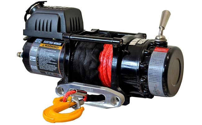 Ninja 4500 Electric Winch - Synthetic