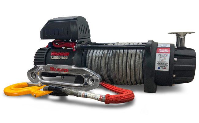T1000-100 Severe Duty Winch - Synthetic
